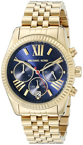 Michael Kors Women's Lexington Gold-Tone Watch MK6206