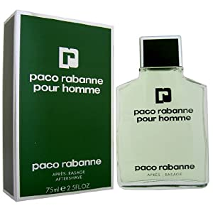 Paco Rabanne Pour Homme Aftershave Splash for Men 75 ml