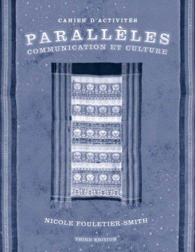 Paralleles: Communication et Culture - Cahier...