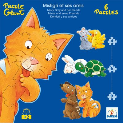 Cheap Papo Misty & Friends – 6 Progressive Puzzles (4,6,9 Pieces) (B000GUXEPC)