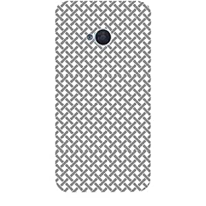 Skin4gadgets BLACK & WHITE PATTERN 9 Phone Skin for HTC ONE M7