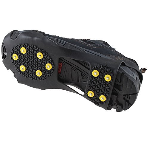 Non-slip Over Shoe, AGPtek® Climbing Snow & Ice Cleats Grips