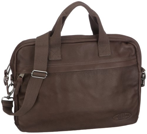 Eastpak Reboot Shoulder Bag Leather - Brown, 28 x 39 x 6
