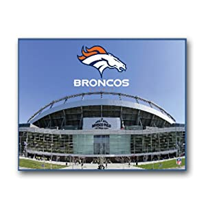 NFL Denver Broncos Stadium 22x28 Canvas Art by Pangea Brands