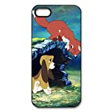 The Fox and The Hound Custom Printed Design Durable Case Cover for Iphone 5 5S
