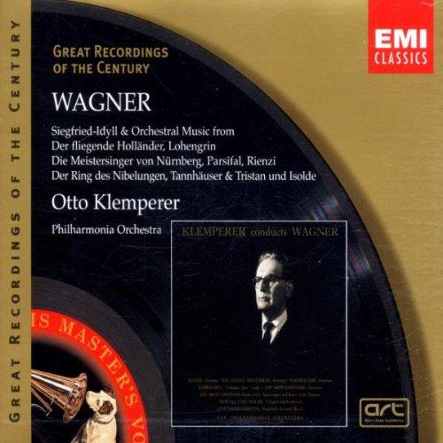 Musica Orquestal De Operas (Klemperer) - Wagner - CD