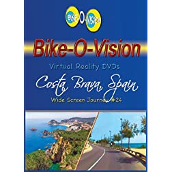 Bike-O-Vision Cycling Journey- Costa Brava, Spain (#24) [Blu-ray]