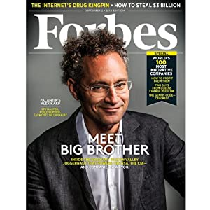Forbes, August 19, 2013 Periodical