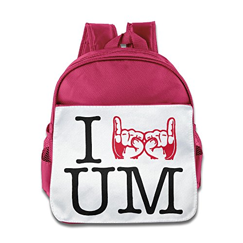 LINNA Cool I Love UM Rock Band Kids Children School Bag For Boys And Girls Pink (Umphreys Mcgee Tickets compare prices)