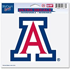 Buy NCAA Arizona Wildcats 4.25 x 4 Ultra Car Decal by WinCraft