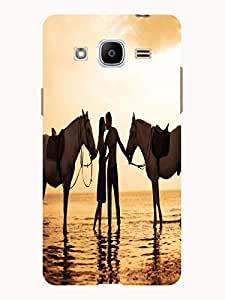 TREECASE Designer Printed Soft Silicone Back Case Cover For Samsung Galaxy J2 (2016)