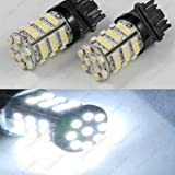 Classy Autos Backup Daytime Running Light White LED Bulbs Reverse Light 54-SMD 3156 3157 3757 4114 4157