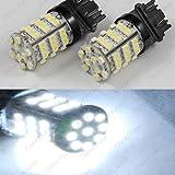 Classy Autos Backup Daytime Running Light White LED Bulbs Reverse Light 54-SMD 3156 3157 3757 4114 4157
