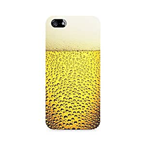 Mobicture Beer Froth Premium Printed Case For Apple iPhone 4/4s