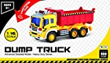 Friction-Powered-Toy-Dump-Truck-With-Lights-Sound-TG640-D-Friction-Truck-Toy-By-ThinkGizmos-Trademark-Protected