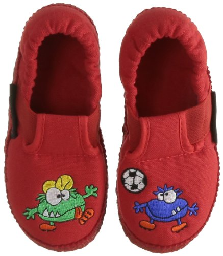 Giesswein Unisex - Child Alf Slippers Red Rot (rot 311) Size: 25