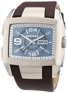 Diesel - DZ4246 - Montre Homme - Quartz Analogique - Cadran Bleu - Bracelet Cuir Marron par Diesel