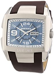 Diesel DZ4246 Bugout Square Face Watch, Brown/Blue