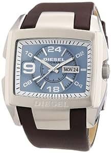 Diesel - DZ4246 - Montre Homme - Quartz Analogique - Cadran Bleu - Bracelet Cuir Marron
