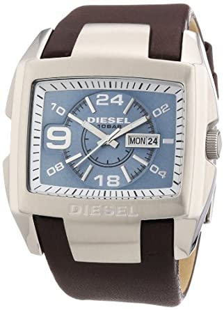 Diesel Men's Quartz Watch Bugout DZ4246 with Leather Strap
