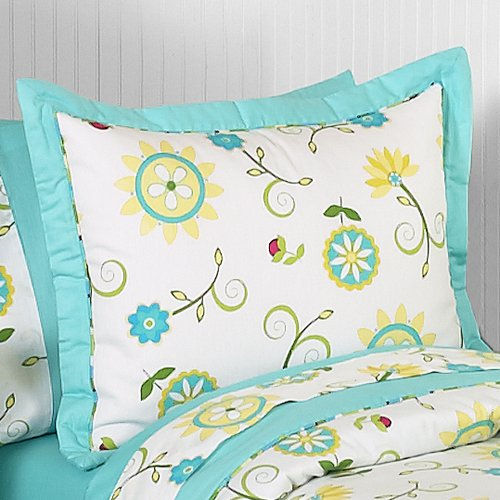 Lime Green Kids Bedding front-134765