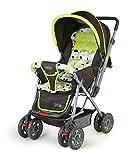 LuvLap Baby Stroller Pram Sunshine (Light Green)