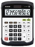 カシオ 防水・防塵電卓 デスクタイプ WD-320MT-N 12桁