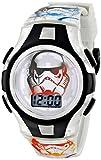 Disney Kids' Rebel SWRKD012FL Digital Display Quartz Black Watch with Mini-Tin