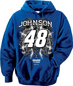 NASCAR Jimmie Johnson #48 Hendrick Motorsports Hooded Sweatshirt by Checkered Flag