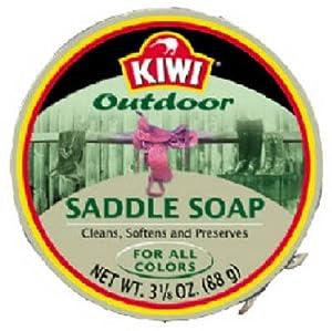 Kiwi Saddle Soap, 3.125 Ounce by Kiwi
