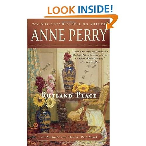 Rutland Place: A Charlotte and Thomas Pitt Novel (Mortalis)