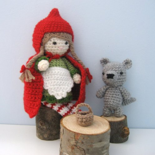 Little Red Riding Hood and Wolf Amigurumi Crochet Pattern