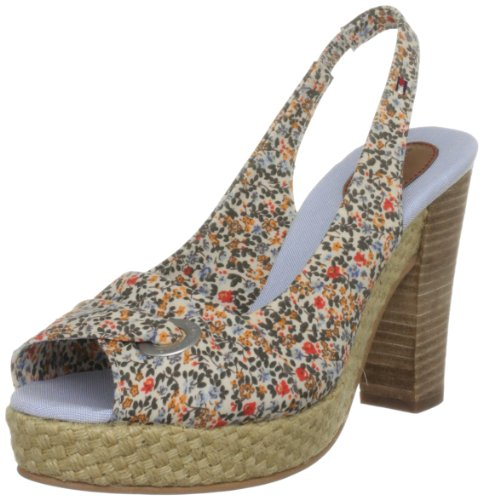 Tommy Hilfiger Women's Evelina 2 B Flower Slingbacks Fw56813793 5 UK
