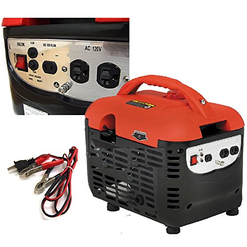 New Gas Portable Generator Quiet Rv Home Camping 2000W Watts