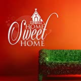 Sweet Home Wall Sticker Decal Three - B00O9V6T8S
