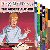 img - for A to Z Mysteries Set (5) : The Orange Outlaw; the Bald Bandit; the Absent Author; the Invisible Island; Mayflower Treasure Hunt (Book Sets for Kids : Children Series : Grade 2 - 3) book / textbook / text book