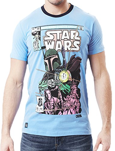 Chunk Mens Star Wars Vintage Comic Crewneck T Shirt