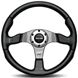 Momo RCE35BK1B Race 350 mm Leather Steering Wheel