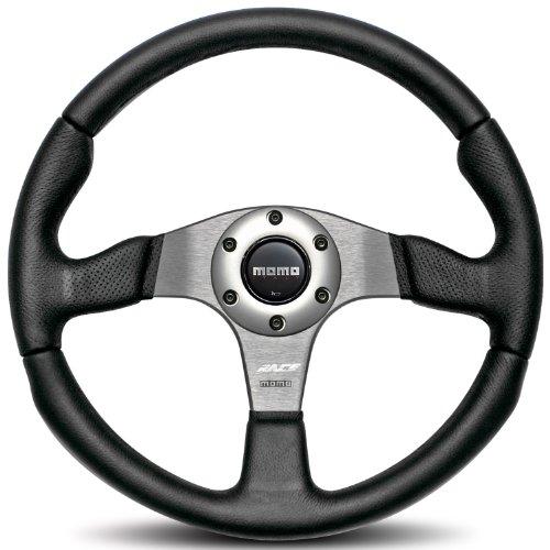 Momo RCE35BK1B Race 350 mm Leather Steering Wheel