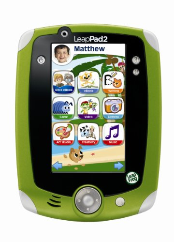 LeapFrog LeapPad2 Explorer Tablet - Green