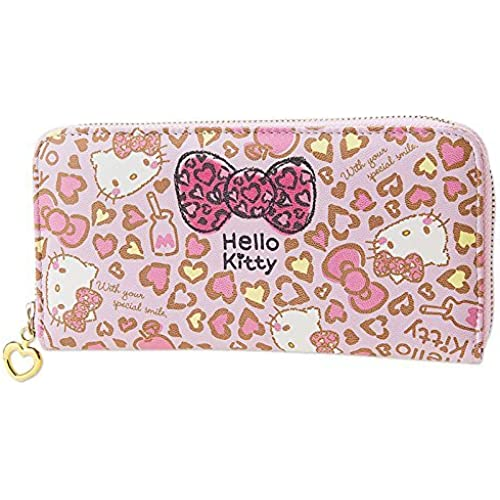 [Hello Kitty] Long wallet wallet wallet ladies wallets [병행수입품]-