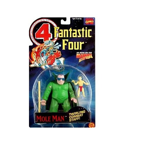 Fantastic Four Mole Man Action Figure by Fantastic 4 - 1
