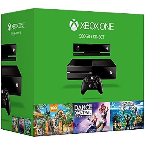 Xbox One Xbox One 500GB + Kinect 6QZ-00081 (메이커 생산 종료)- (2016-01-28)