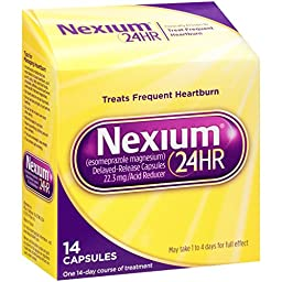 Nexium 24-Hour Delayed Release Heartburn Relief (14-Count Capsules)