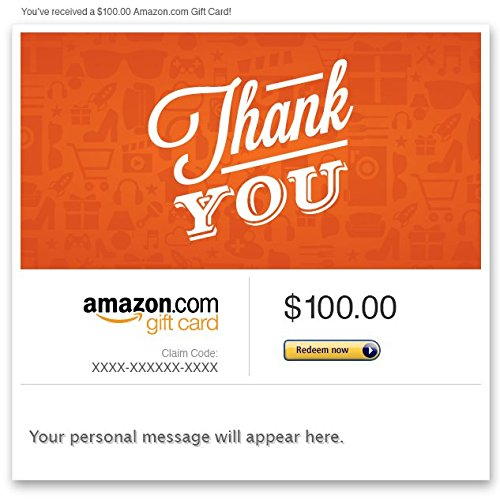Amazon Gift Card - Email -Thank You Icons