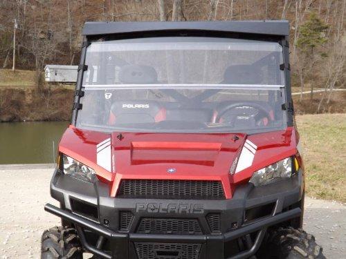 Pro Armor Black Tail Light Guards Covers Polaris Ranger 700 XP 2005-2009