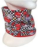 Disney Cars - echarpe foulard rond tube pour enfant 4363, rouge