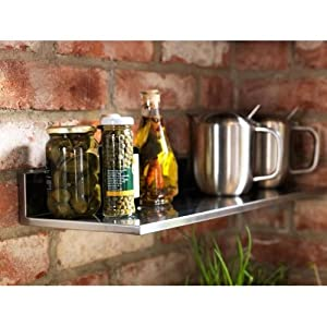 Amazon.com - Ikea Stainless Steel Wall Shelf 24x8