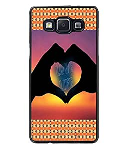 PrintDhaba Quote D-4569 Back Case Cover for SAMSUNG GALAXY A5 (Multi-Coloured)