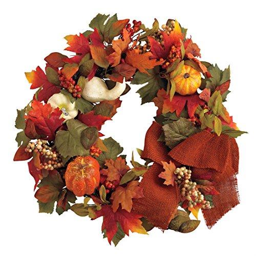 Brylanehome-24-Outdoor-Harvest-Wreath